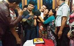Polisi yang Dibunuh Teroris di Polda Sumut Tinggalkan 9 Anak