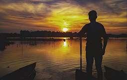 SHARE LOC: Danau Sipin, Tempat Indah Menikmati Senja di Jambi