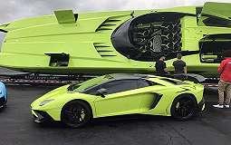 TOP AUTOS: Lamborghini Aventador Dijual Satu Paket dengan Speedboat