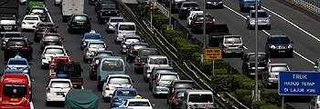 Kemacetan di Slipi Ramai di Twitter
