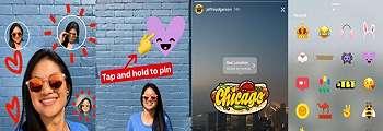 Instagram Mungkinkan Pengguna Ubah Selfie Jadi Stiker