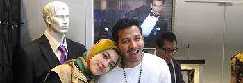 Ingin Tamu Betah, Fairuz dan Sonny Septian Bikin Pernikahan Berbeda